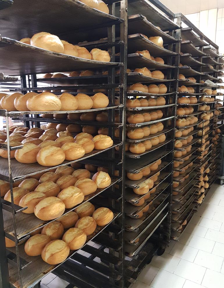 Artisan Bread cooling